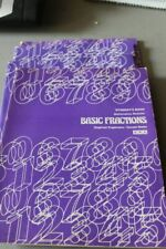 SRA Corrective Math Basic Fractions 4 Student Workbooks Unused