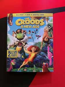 The Croods: A New Age (Blu-Ray/DVD & Digital - 2020)