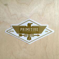 Primitive skateboarding vinyl sticker P.ROD Paul Berrics bird native field test