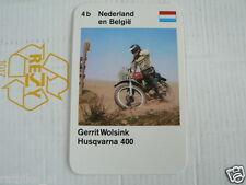 23 MOTO-CROSS 4B DUTCH/BELGIUM GERRIT WOLSINK HUSQVARNA 400 KWARTET, QUARTETT