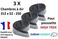 3X Chambres à air 312x52-250 pour poussette HIGH TREK Bébé confort 312 x 52 -250