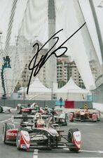KARUN CHANDHOK MAHINDRA FORMULA E HAND SIGNED 6X4 PHOTO.