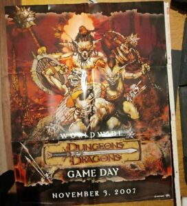 D&D Gameday 2007 Poster (DnD 3,5, Dungeons & Dragons Collector)