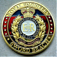 BRAND NEW BEAUTIFUL COIN MILITARY ROYAL ENGINEERS BRITISH ARMY REMEMBRANCE DAY