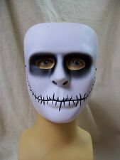Creepy Stitched Comic Face Costume Mask VooDoo Puppet Goth Mime Jack Skellington