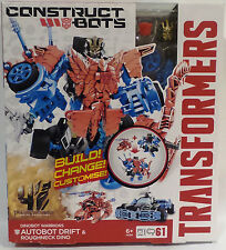 TRANSFORMERS : AUTOBOT DRIFT & ROUIGHNECK DINO BUILD, CHANGE, CUSTOMISE KIT (TK)