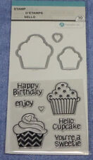 Hampton Art Stamp & Die Cut Set:  Birthday Cupcakes:  SC0791