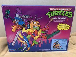 VINTAGE TMNT_Killer Bee_The psychotic stinging pollinating punk_New open box_'90