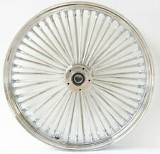 DNA Chrome Front Mammoth 52 Spoke 21x3.50 Wheel 00 - 07 All FLH/T Dual Disc Only