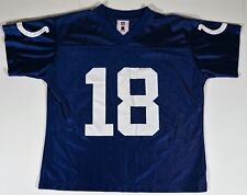 NFL Womens Apparel- Indianapolis Colts Vintage Nfl Player Jersey, #18 P. Manning