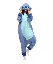 Unisex Adult Stitch Costume Animal Kigurumi Pajamas  Onesie1 Cosplay pajamas