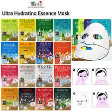 [Malie] Hydrating Mask / (16Pcs) Ultra Hydrating Essence Masks Korea Cosmetics