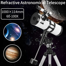 114-1000mm Professional Astronomical Refractor Telescope Eyepiece With Tripod