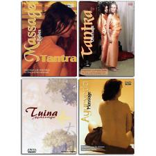 4 Massage DVD Set - Tantra Tuina und Ayurveda - Erotische und Heilmassagen - Neu