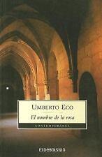 El Nombre De La Rosa (Contemporanea) (Spanish Edition)-ExLibrary