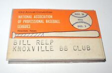 1964 National Association of Professional Baseball League Convention Badge Pin