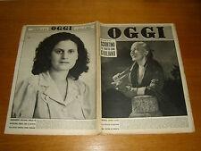 OGGI 1952/38=MARCEL DREGRYSE=MONTELEPRE PASQUALE SCIORTINO=CLAUDETTE COLBERT