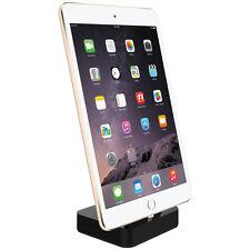 Kidigi Lightning Cable Charging Dock & Cradle Charger - Apple iPad Mini - Black