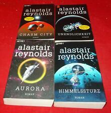Alastair Reynolds - 4 Bände: Unendlichkeit / Chasm City / Aurora / Himmelssturz
