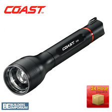 Coast G30 LED Twist Focus Aluminium Torch + FREE BATTERIES