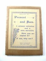 1800's Salvation Track Pamphlet Glasgow The Witness Office James Hawkins London