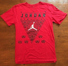 Air Jordan Championship VI 6 Rings Champagne Red Mens Medium Graphic T Shirt, s7