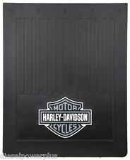 harley davidson motorcycle tractor trailer rear semi back truck mud flap HD pair