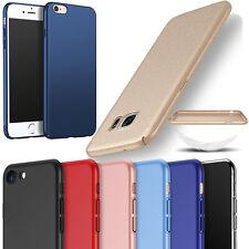 Ultra Slim Mince Housse Etui Coque Cover Dur PC Hard Glaçage Pour Samsung &Apple