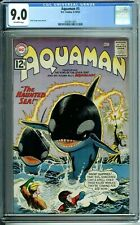AQUAMAN 5 CGC 9.0 AQUALAD ORCA KING of the SEVEN SEAS DC SILVER AGE1962 NEW CASE