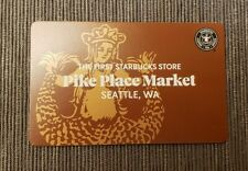 2021 Exclusive Starbucks Original First Store Pike Place card.  New.