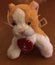"Ganz Soft Spots Tiny Messenger Plush Cat 5"""