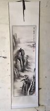 Original Japanese Watercolour Painting Scroll Landscape