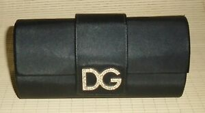 "DOLCE & GABBANA Authentic Eyeglass Hard Case Near Mint Cond. - Large Size 6 1/2"""