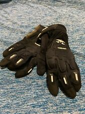 Used Valken Impact Full Finger Paintball Gloves Large ( Autococker Eclipse Dye )