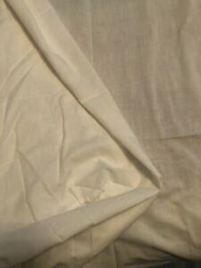 DOUBLE BED FITTED WHITE VALANCE SHEET WITH A FRILL