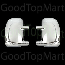 For FORD F250 F-250 1997-2004 2005 2006 Chrome FULL Mirror Covers w/out Signal