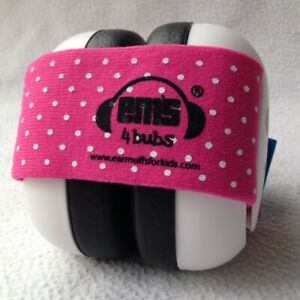 Baby ear defenders - sound protection earmuffs