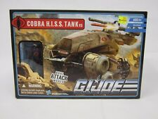 2010 G.I JOE COBRA PURSUIT OF COBRA POC HISS TANK VEHICLE W/ DRIVER NEW MISB