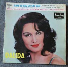 Dalida, dans le bleu du ciel bleu + 3, EP - 45 tours