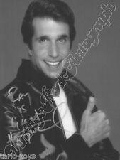 HAPPY DAYS - Fonzie, Winkler - print signed photo - foto con autografo stampato