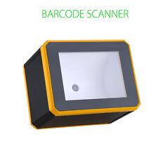 1D/2D Barcode Scanner Reader Black Desktop with USB interface Portable Durable