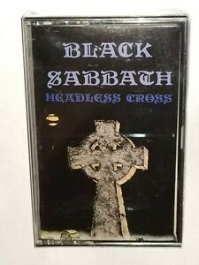 NEW SEALED BLACK SABBATH HEADLESS CROSS CASSETTE TAPE IRS METAL OZZY OSBOURNE
