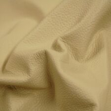 107 sf Almond / Cream Famous Stingray Upholstery Cow Hide Leather Skin x05q rstu