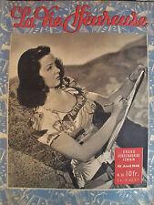 revue magazine LA VIE HEUREUSE n°16 - 10 avril 1946 - mode vintage