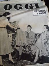 OGGI 28 1954 Maria Josè di Savoia e la moda in esilio