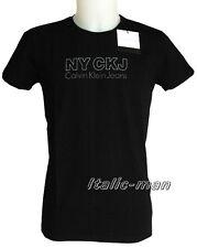 T-shirt m/c CALVIN KLEIN - mod. CMP02T - tg. M - nero
