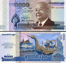 CAMBOGIA - Cambodia 1000 riels 2013 FDS - UNC