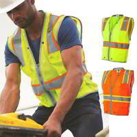 NEW ML Kishigo Brilliant Series Heavy Duty Class 2 Vest 1510-1511