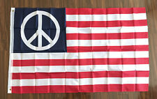 3x5 ft WORLD PEACE USA Flag American Flag Polyester