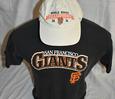 San Francisco Giants 2014 World Series Baseball Hat Cap with T-Shirt